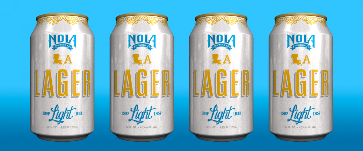 Celebrate the New Year With NOLA Brewing?s Release of LA Lager