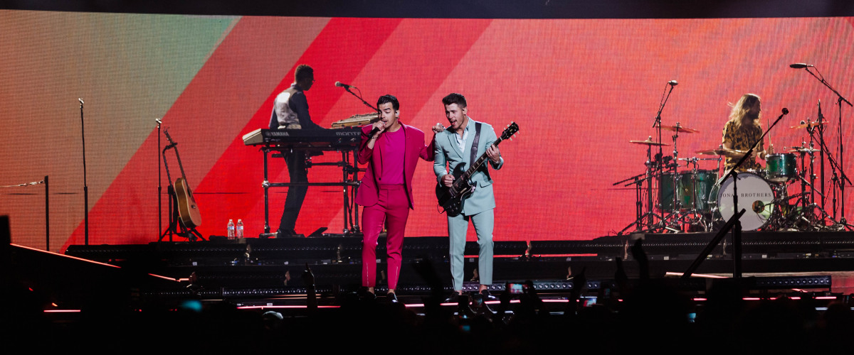 The Jonas Brothers at the Smoothie King Center