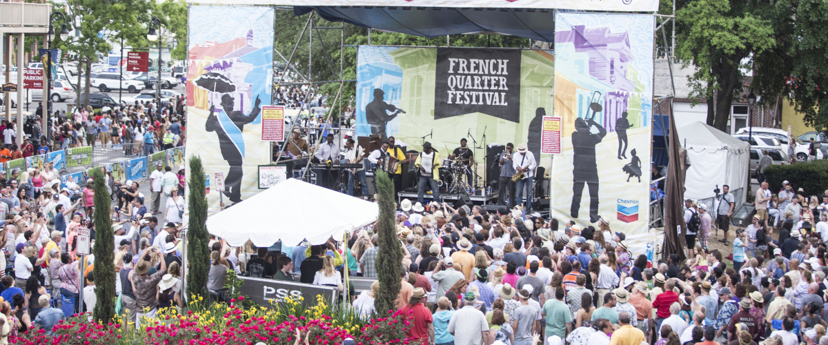 Click Here For Your 2019 French Quarter Fest Cubes!