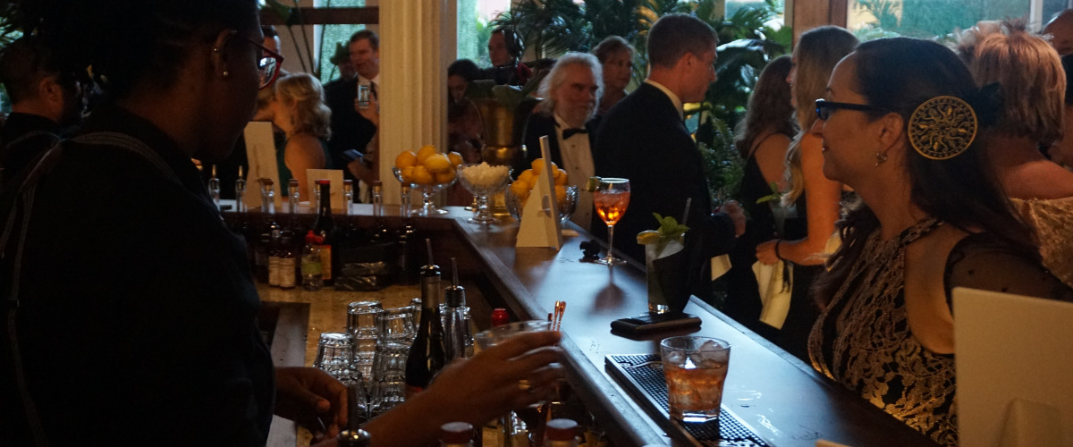 The Sazerac House Holds An Opening Gala
