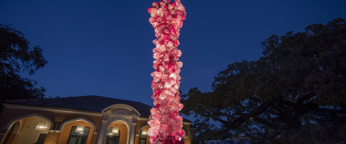 New Orleans Botanical Garden Welcomes Chihuly Sculpture to City Park