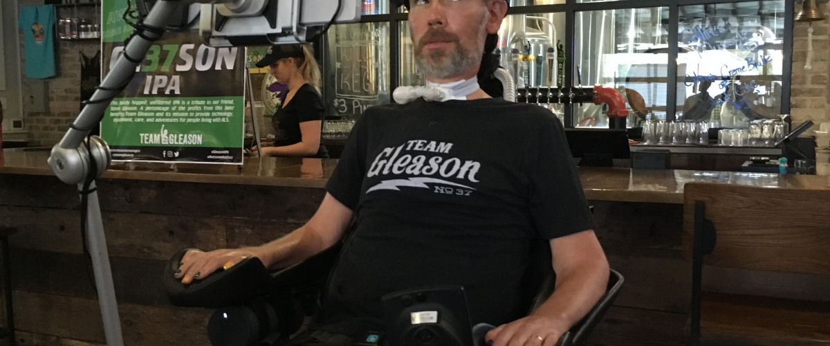 Steve Gleason's ALS Foundation Event at Port Orleans Brewing Co.