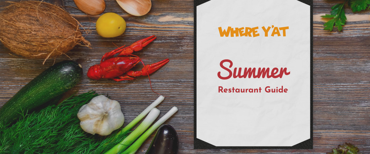 Summer 2019 Restaurant Guide