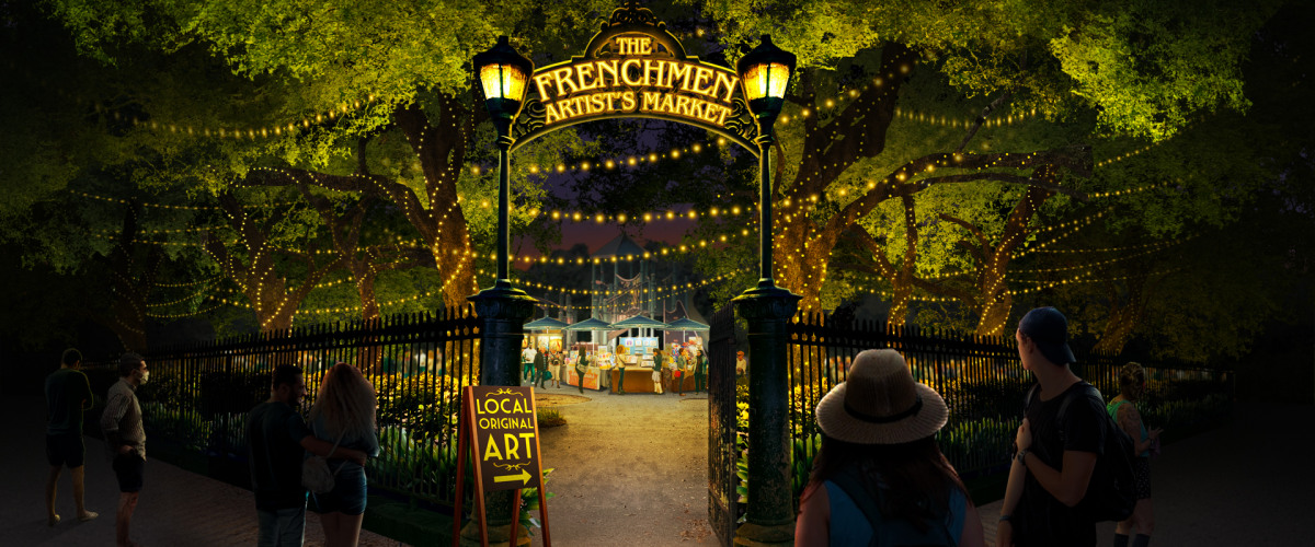 The Frenchmen Artist's Market: Community & Art, All in One Package