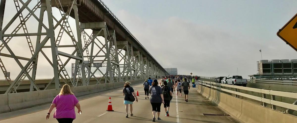 Crossing Over: The Great Huey P. Long Bridge Run 2019 is a Success