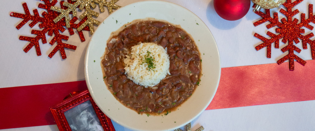 Red  Beans & Rice: Hammin' It Up at Mother's