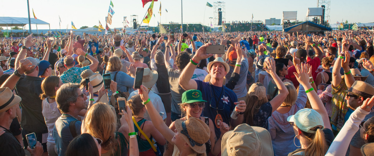 Click Here For Your 2019 New Orleans Jazz & Heritage Festival Map!