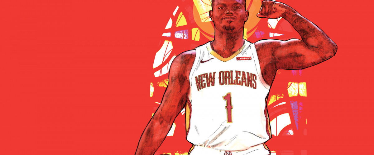 Brand  New Krewe: Led by Jrue and Zion,  the Pelicans are Ready  for a Revival