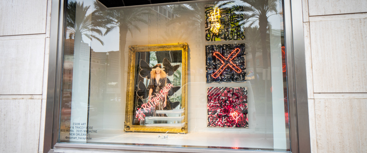 Window Dressing: Saks Fifth Avenue?s Mardi Gras Window Displays Blend Art and Fashion