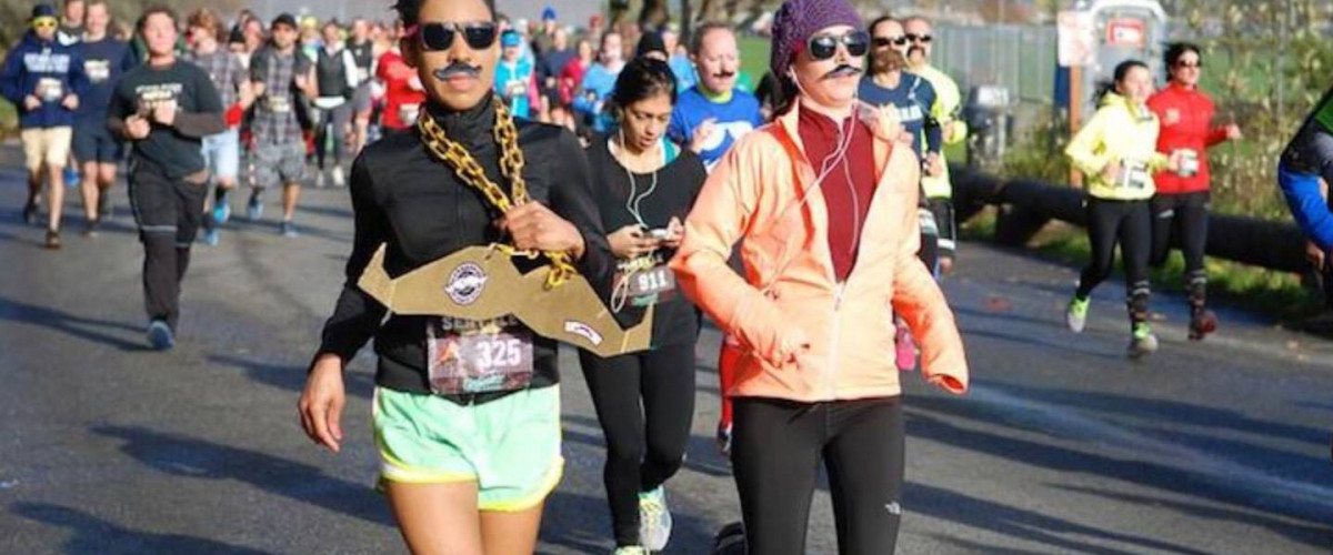 Stache Dash: Beards for a Cause