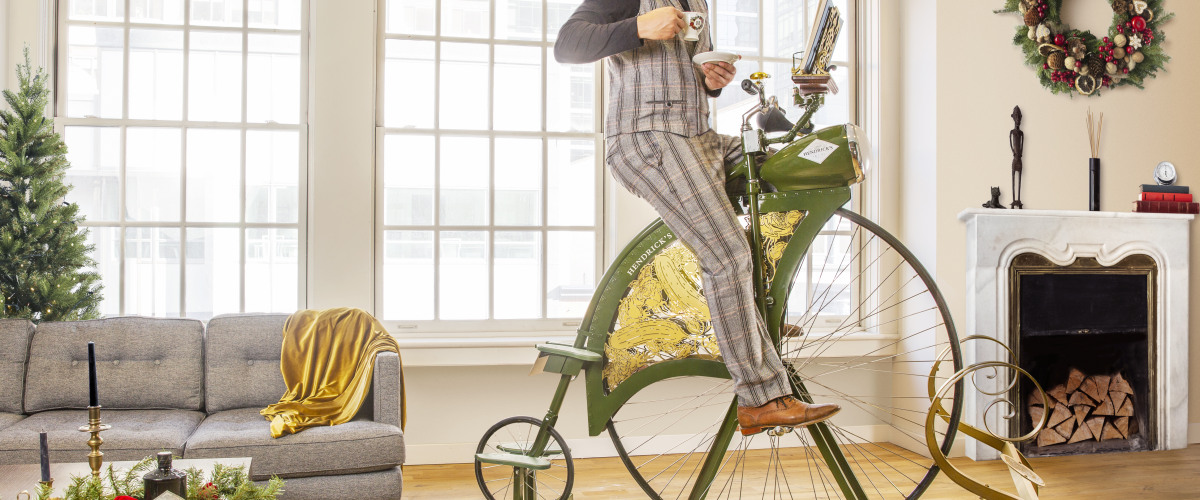 Hendrick's Gin Launches an Utterly Proper Pedaling Device