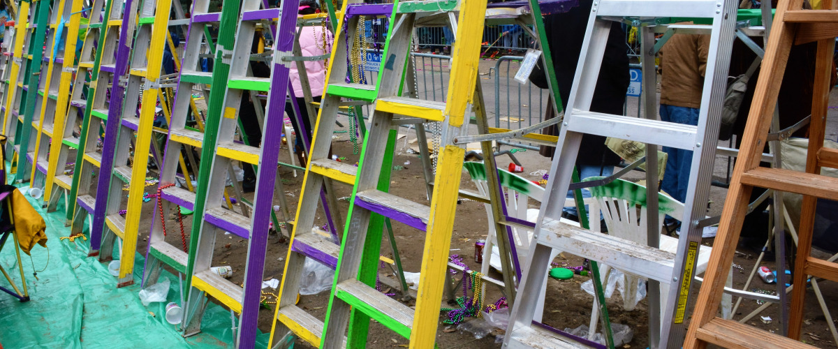 Mayor Cantrell Warns That Illegally Placed Ladders Along Parade Route Will Be