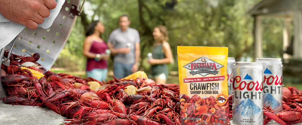 WIN A FREE CRAWFISH BOIL FROM COORS LIGHT!