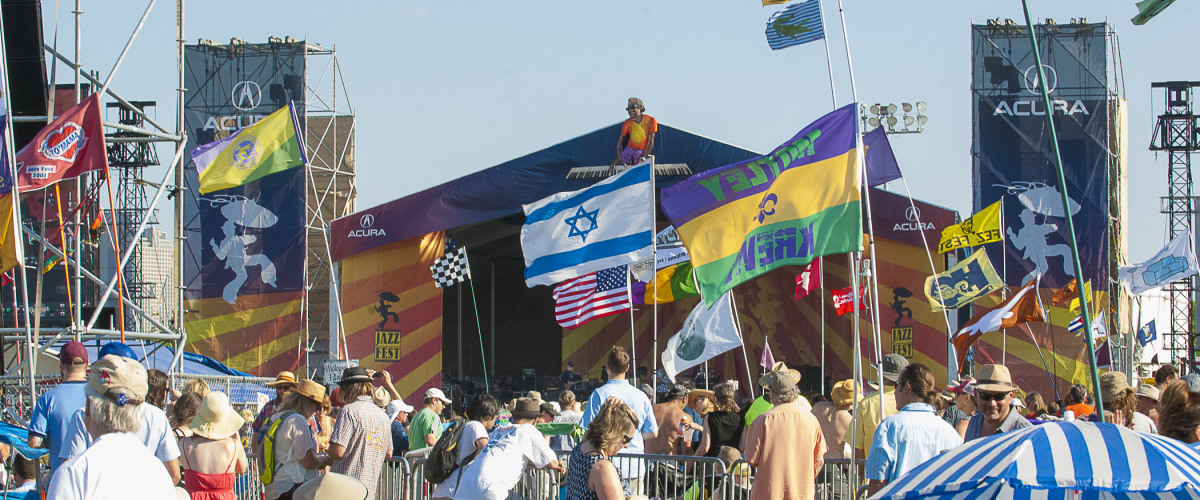 WWOZ's Brass Pass at Jazz Fest Will Not Work For May 2nd Date