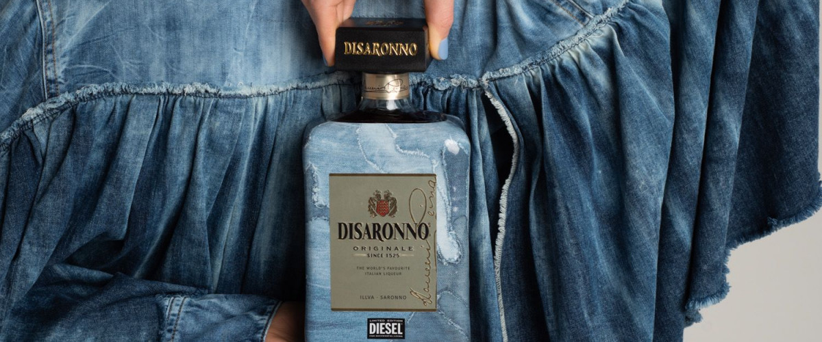Disaronno Wears Diesel (and you should too!)