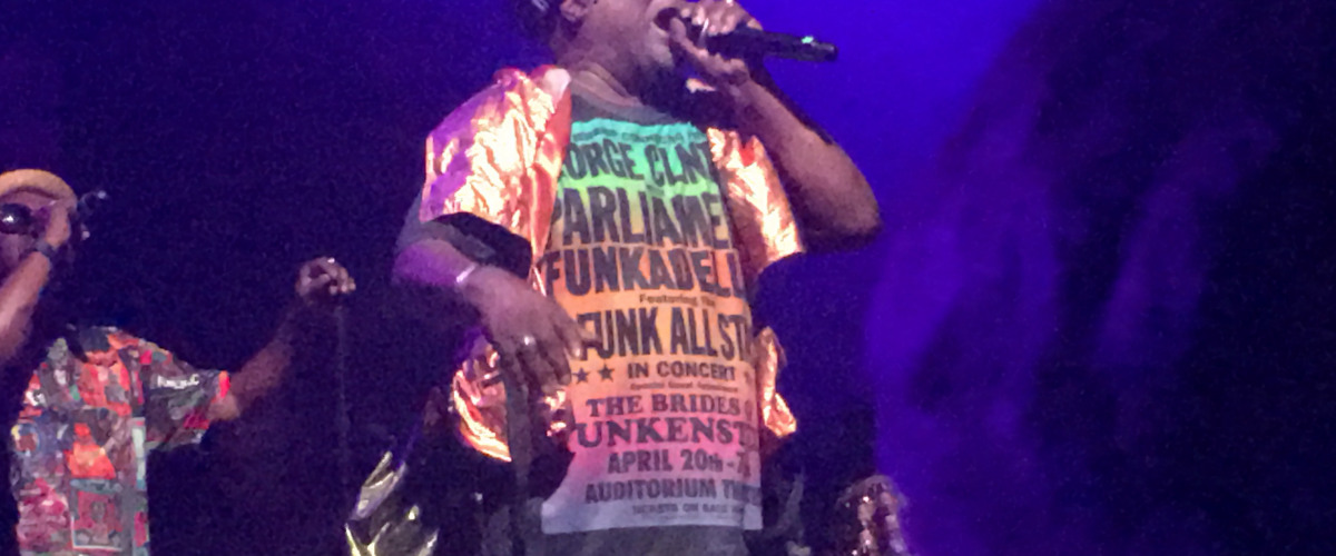 George Clinton Tears the Roof Off Once More During Farewell Tour.