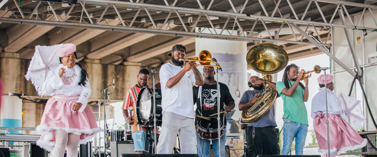 Treme/7th Ward Arts and Culture Festival Second-lines into Memorial Day Weekend
