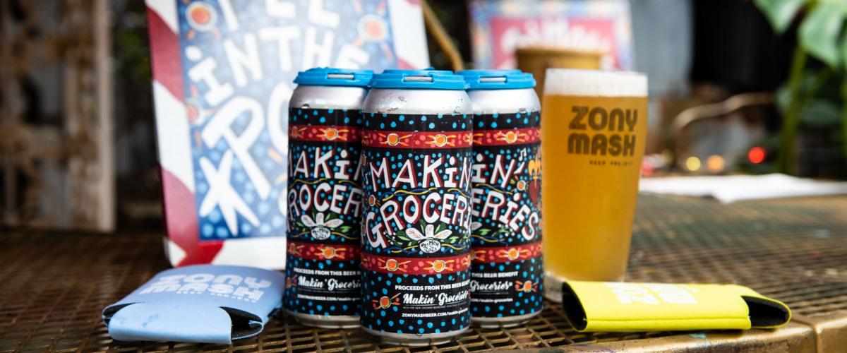 "Zony Mash's ""Makin' Groceries"" Ale to Help Elderly Make Groceries Too"