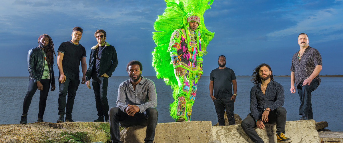 Don?t Stop the Music: Mardi Gras Indian Funk Band Cha Wa Sings Out for BLM