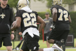 Saints Wrap Up First Week of Training Camp