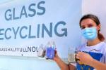 Raise Your Glass to Coastal Restoration?Glass Half Full Turns Glass Garbage Into Coast