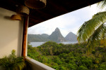 Jungle+Mountains+Beach = Anse Chastenet