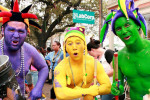Showing  Your  Krewe  Colors: The History of  Purple, Green, and Gold