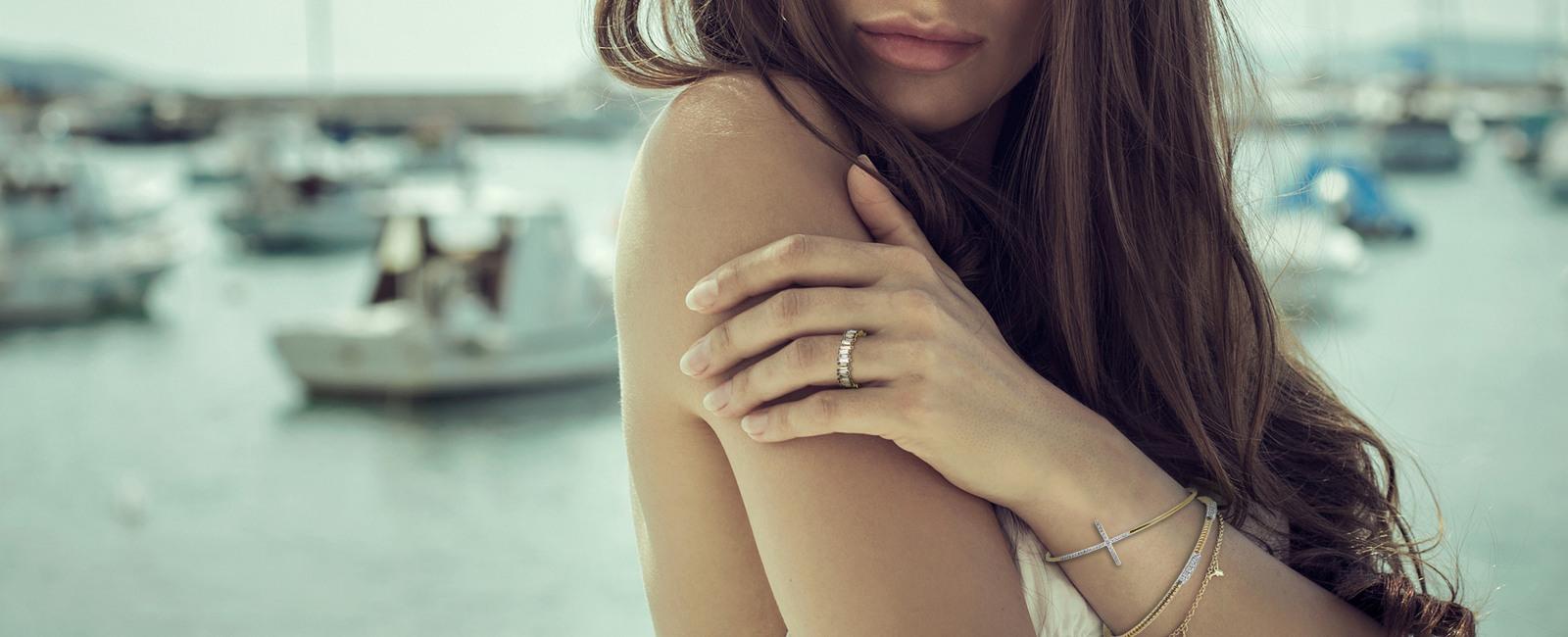 Diamond Bracelets and Bangles