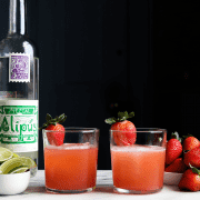 Strawberry Mezcal Margarita