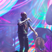 Chris Brown Performs at the Smoothie King Center