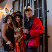 Chris Owens Hosts Halloween Party