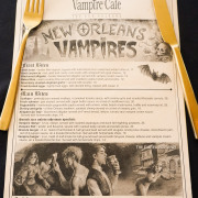 Grab A Bite At The New Orleans Vampire Cafe