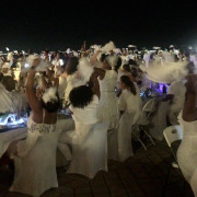 All White Everything at Diner en Blanc New Orleans