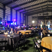 Black & Gold Gala Hits The Fields