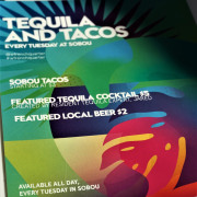 SoBou Celebrates Tacos & Tequila Every Tuesday