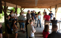 Image of Helen Back Drivers Meeting