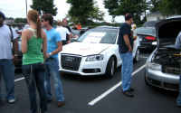 Image of New A3 TDI got lots of attention