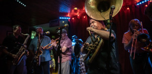 Second Line at Home for This Year's Brass Fest