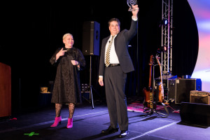 Levent Honored with BHGRE Founder's Award