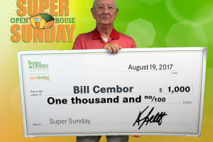 July Super Sunday Winner: Bill Cembor!