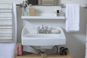 How to Add Space to Any Small Bathroom