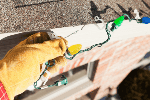 Hanging Holiday Lights Without Harming Your Home