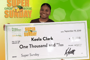 August 2019 Super Sunday Winner