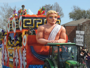 Westbank Mardi Gras Parades: A Remembrance