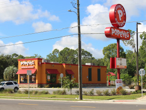A Fight Breaks Out at California Popeyes Location