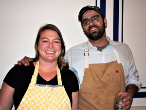 Saba Hosts a Red Beans Party