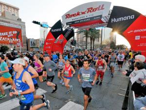 Miles of Fun With the Rock 'n' Roll Marathon and Half-Marathon