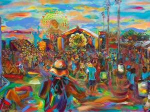 Festin' With Frenchy: The King of Oak Street is New Orleans's Favorite Live Painter