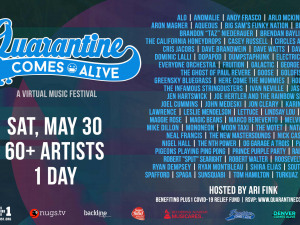For the Love of Live Music: Quarantine Comes Alive