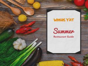 Summer 2019 Restaurant Guide